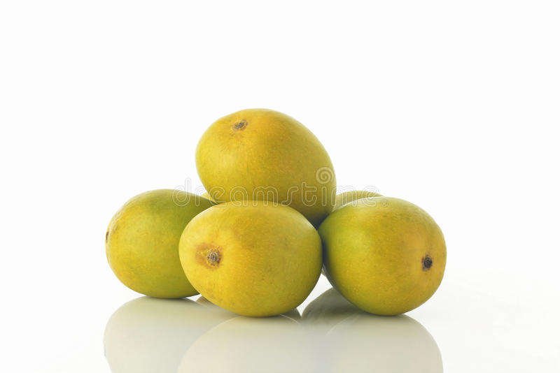 Alphonso Mangoes imagem de stock