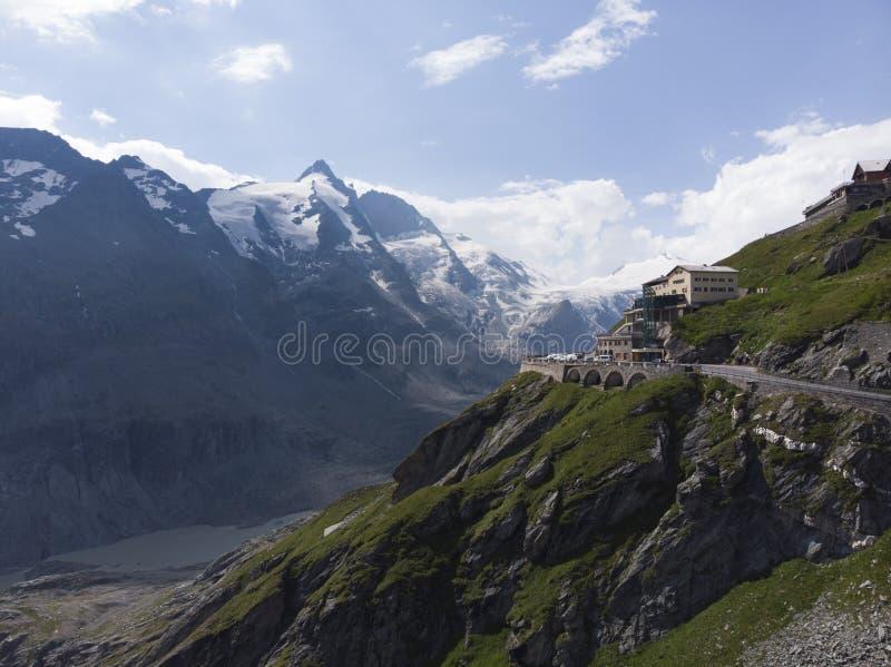 alphs austriaci glaciar fotografie stock