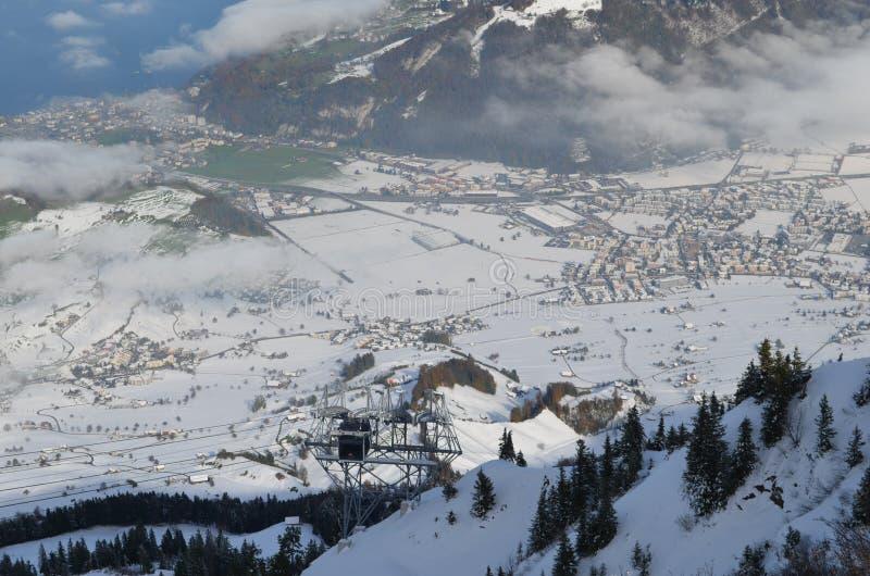 Alpi 21 immagine stock