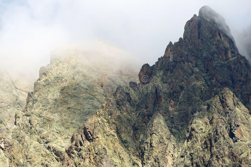 Alpi a Chamonix-Mont-Blanc fotografia stock libera da diritti