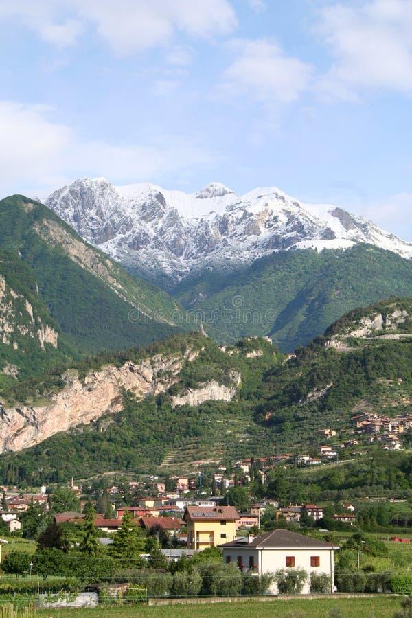 Alpi italiane. fotografia stock