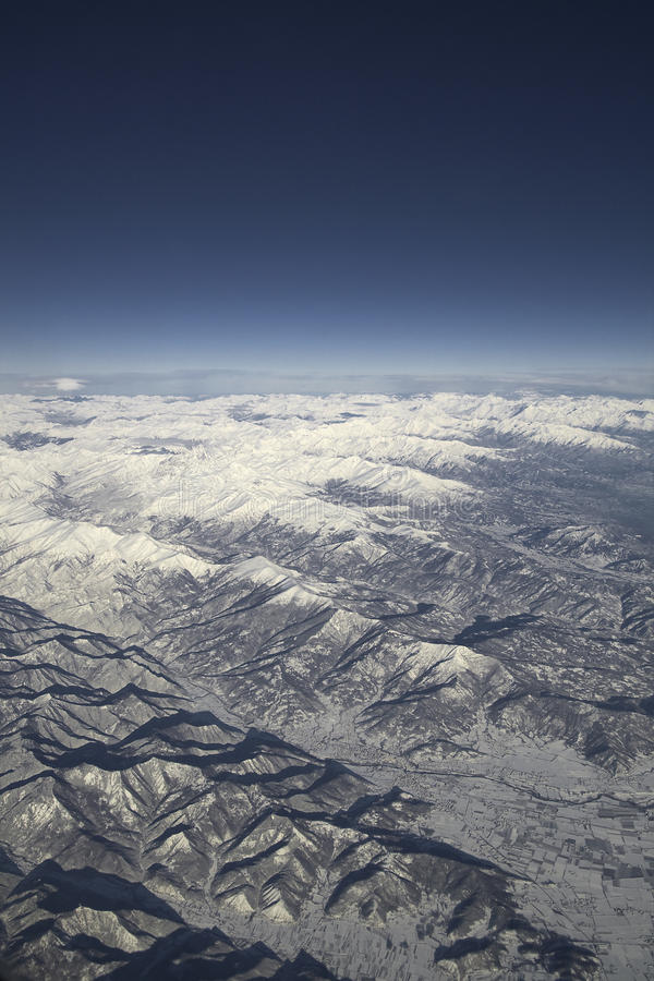 Alpi's mountains range royalty free stock image
