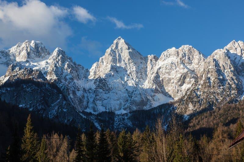 Alpi slovene immagine stock libera da diritti