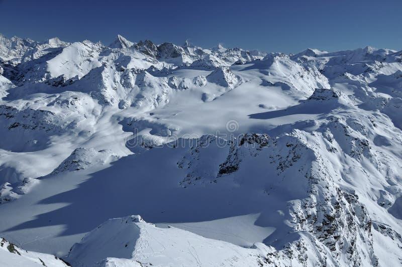 Alpi svizzere: Paesaggio Stunning immagini stock