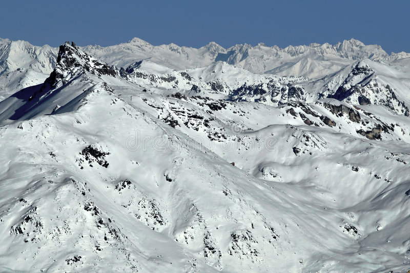 Alpi svizzere Pierre Avoie immagine stock