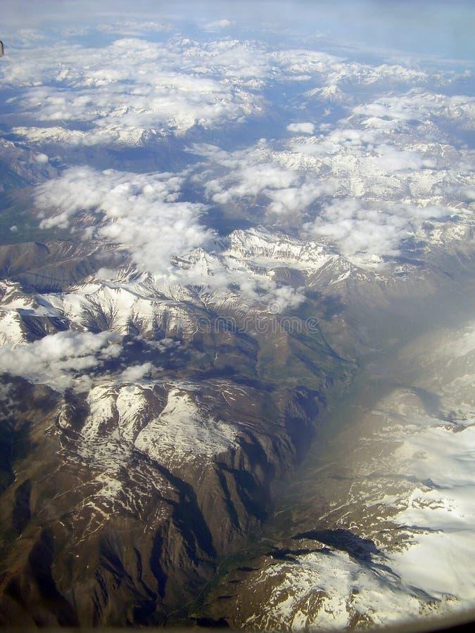 Alpien royalty-vrije stock afbeeldingen