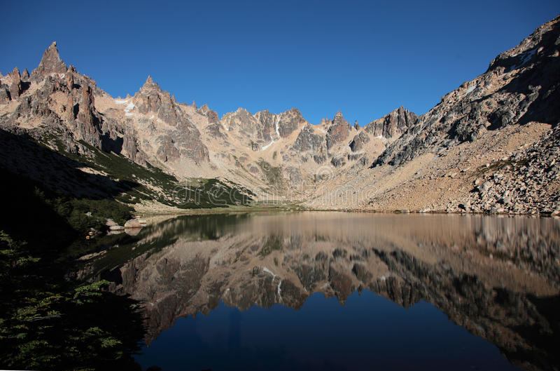 Alpien Argentinië royalty-vrije stock foto's