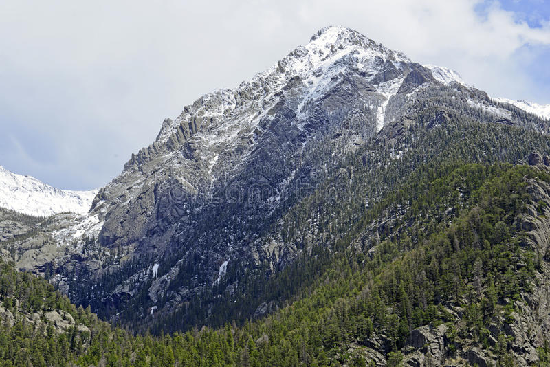 Alpien landschap, Sangre DE Cristo Range, Rocky Mountains in Colorado stock foto's