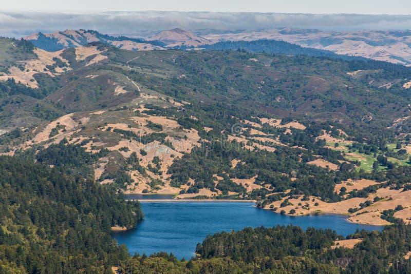 Alpien Meer - Marin County royalty-vrije stock foto's