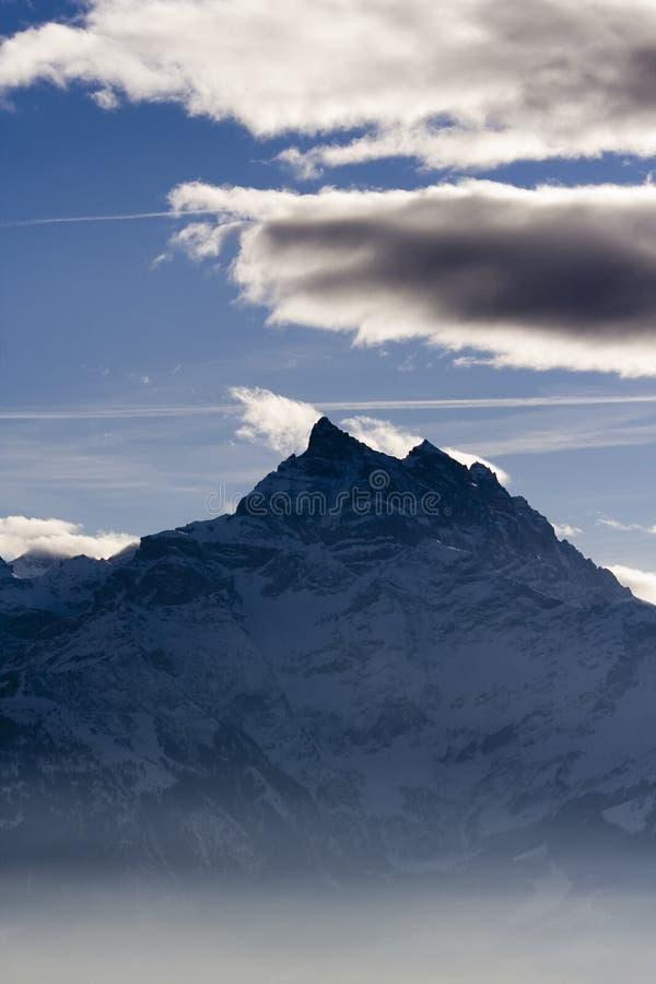 Alpiene Berg stock afbeelding