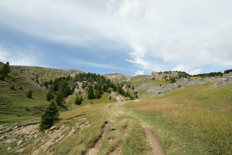 Alpiene berg in Frankrijk royalty-vrije stock afbeelding