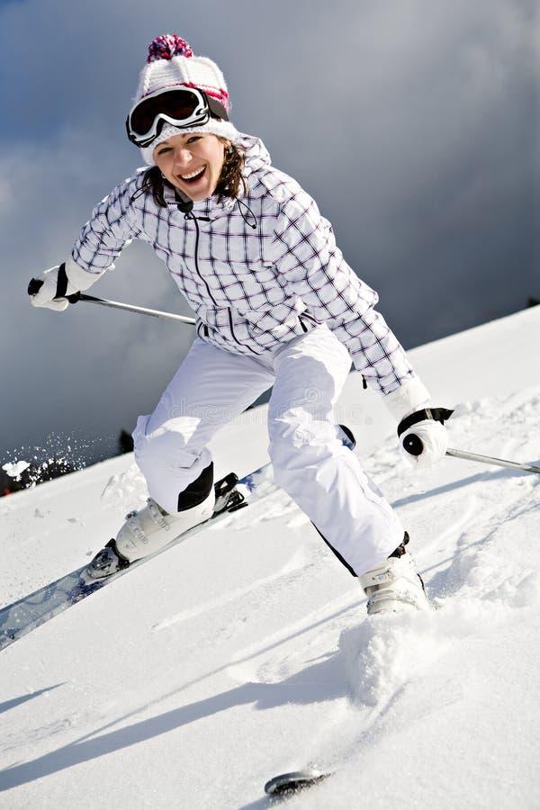 alpin滑雪 库存照片