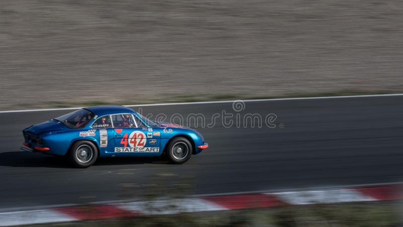 A110 alpin 1965 photos stock