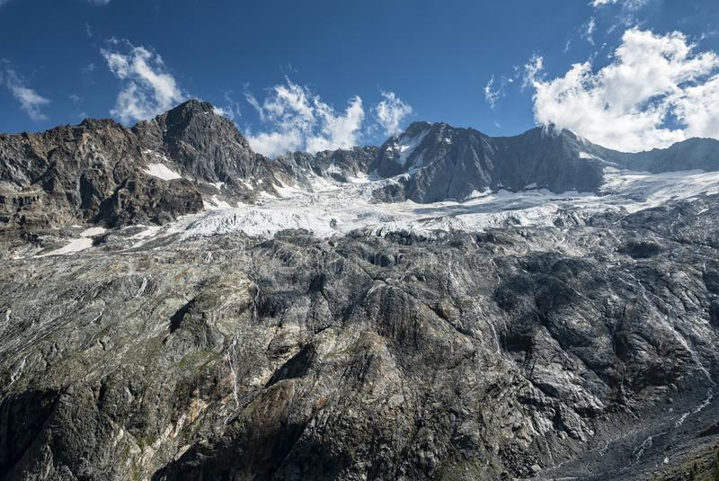 Alpin-Alptransit lizenzfreies stockbild