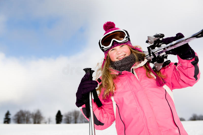 Alpin del esquí fotos de archivo