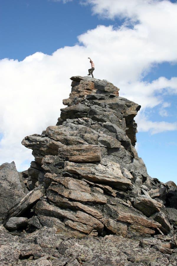 Alpin Karateunge Royaltyfri Foto