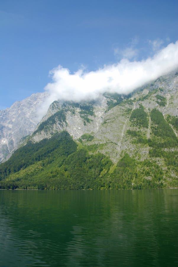 alpin lake arkivbilder