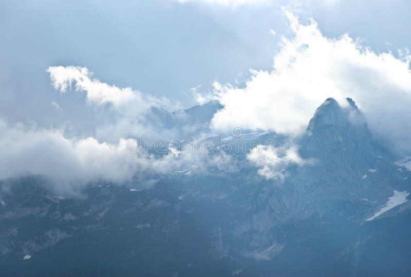 alpin sikt arkivfoto