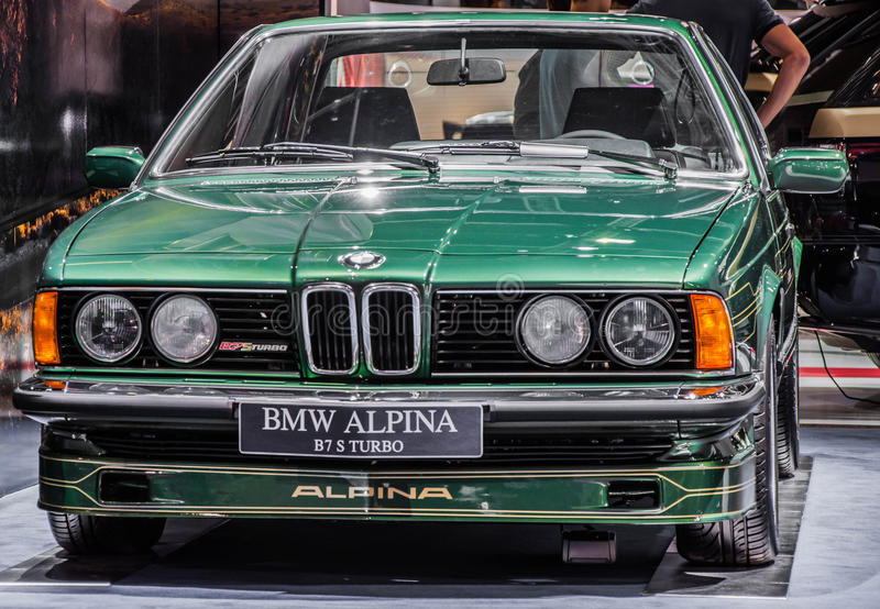 Alpina B7 S Turbo imagen de archivo