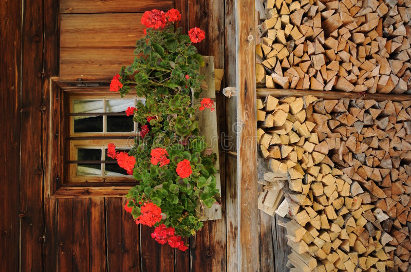 Download Alpine 077 stock photo. Image of alpine, flowers, house - 8522724