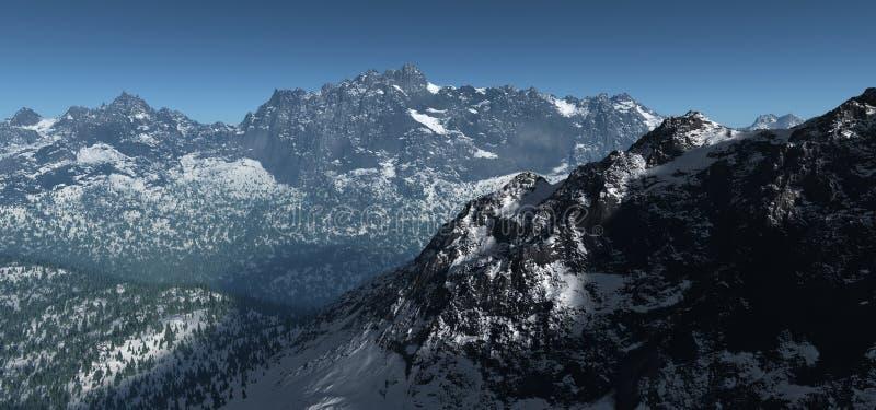 Alpine3 ilustracja wektor