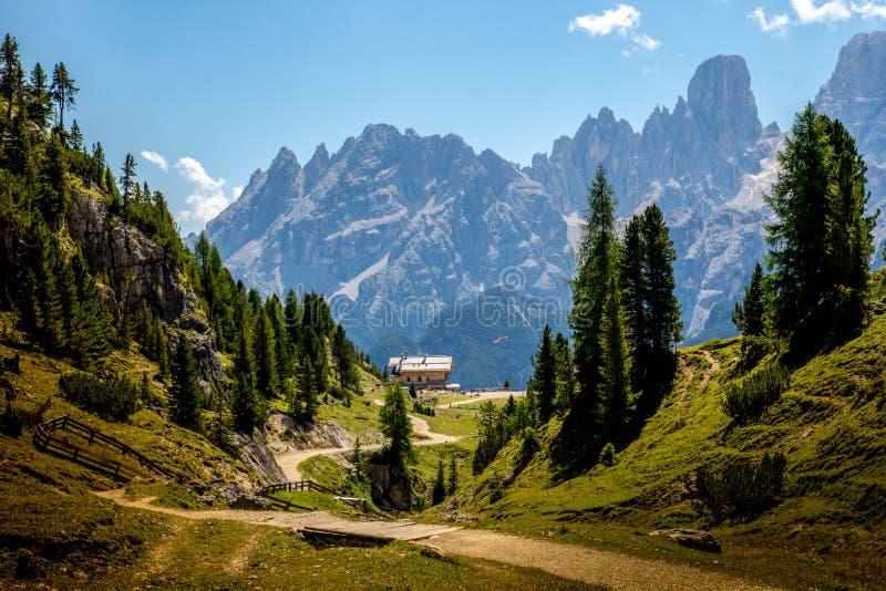 Alpine, Away, Blue royalty free stock image
