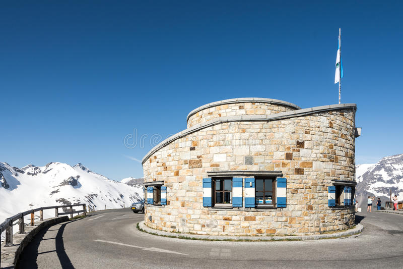 Alpine Building royalty free stock photos