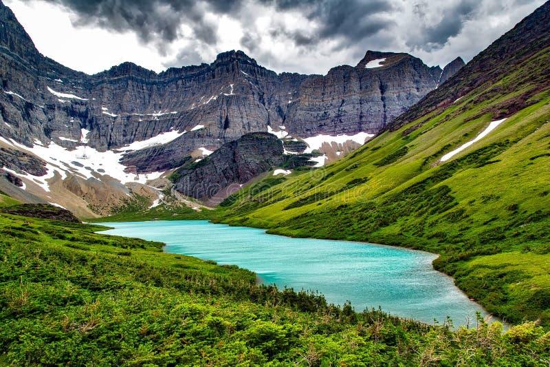 Alpine, Canyon, Clouds royalty free stock photos
