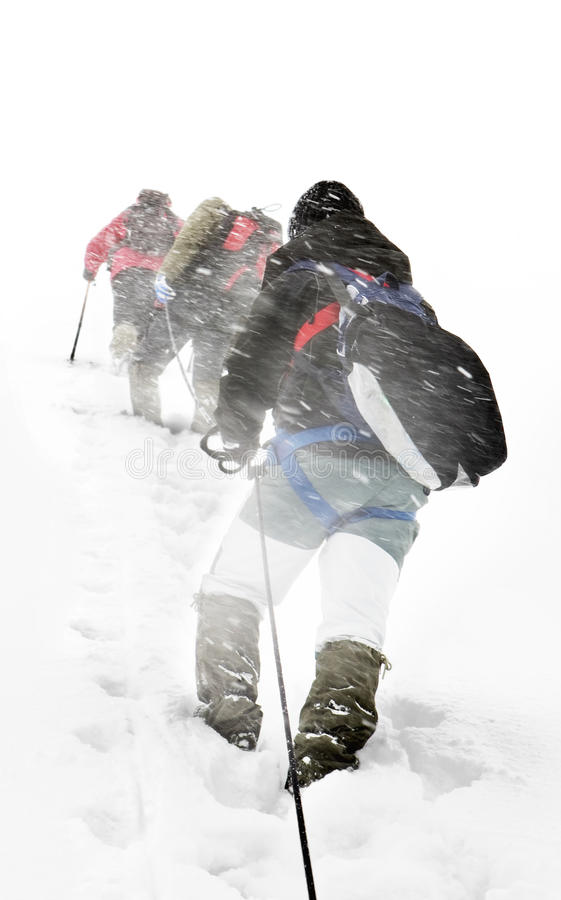 Free Alpine Expedition Royalty Free Stock Images - 13322359