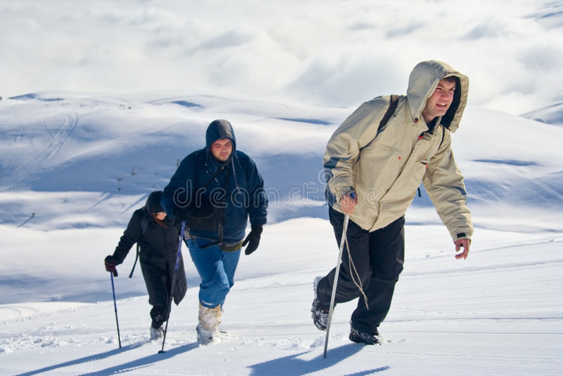 Download Alpine Expedition Climbing Mt. Sar Planina Stock Image - Image: 1499301