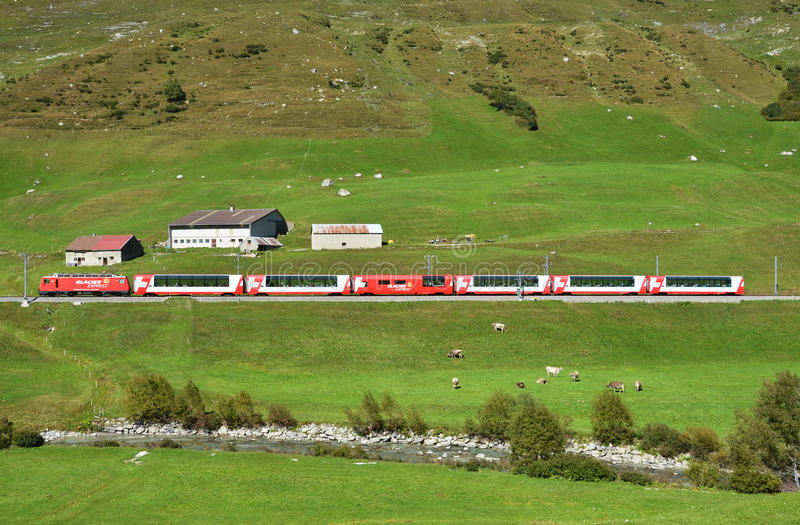 Download Alpine express editorial stock image. Image of pass, mountain - 29074494