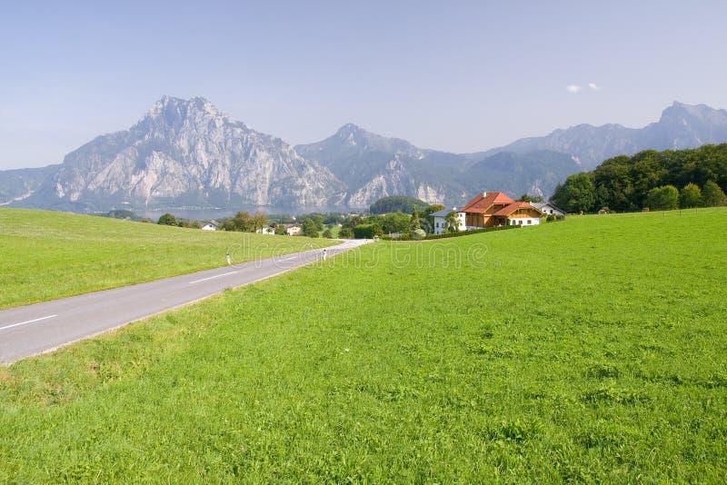 Download Alpine farm land stock image. Image of desolate, landscape - 7095103