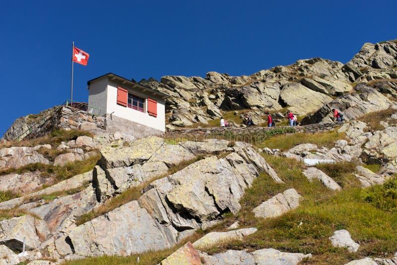 Alpine Hiking stock image