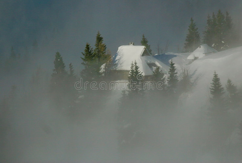 Download Alpine Hut Stock Photos - Image: 7549163