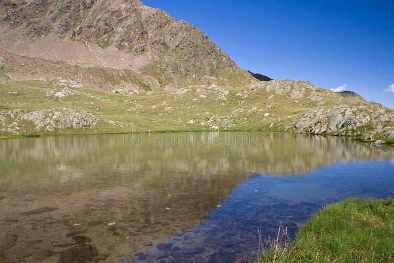 Download Alpine lake stock photo. Image of alpi, lago, monti, italy - 10015666