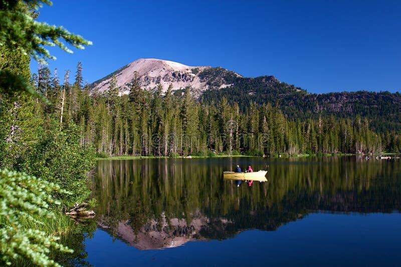 Alpine Lake. Beautiful high mountain alpine lake in summer royalty free stock images