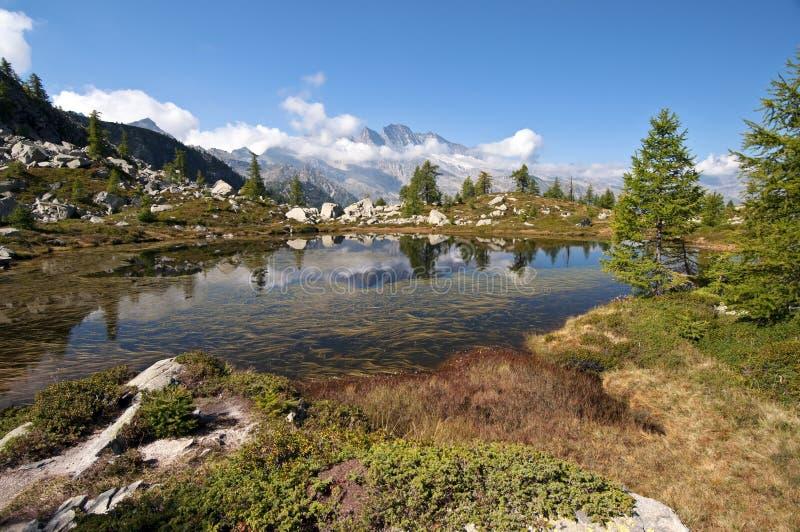 Download Alpine lake stock image. Image of cloud, health, color - 23222267