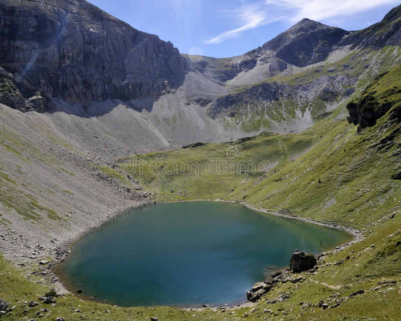 Download Alpine lake stock image. Image of obertauern, hiking - 23977079