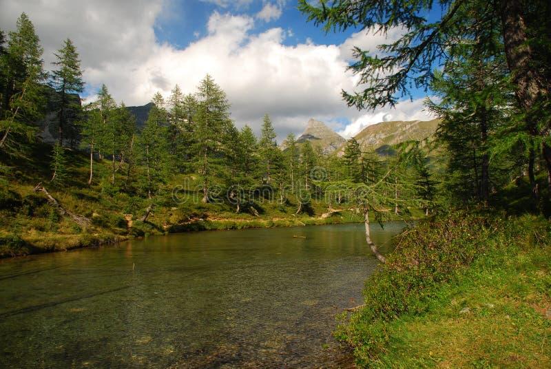 Alpine lake, Alpe Veglia. Italian Alps