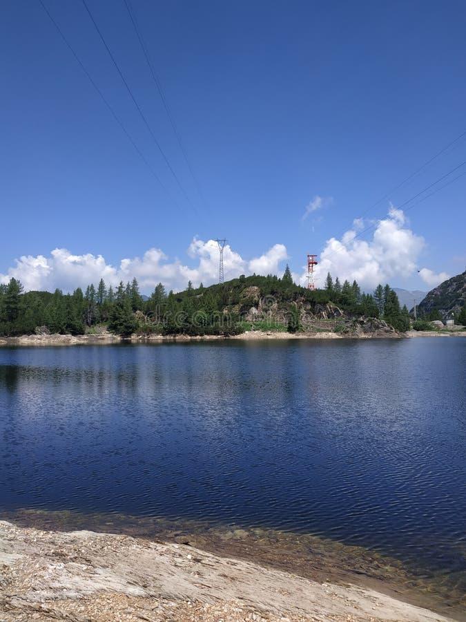 Alpine lake Marcio lake royalty free stock image