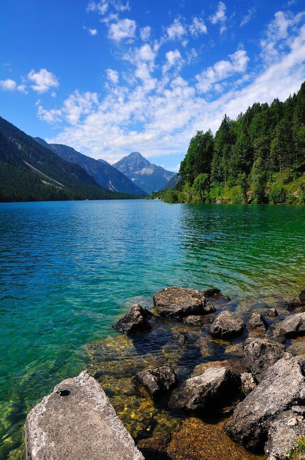 Alpine Lake in Tirol. Very beautiful alpine lake in tirol, alps royalty free stock image