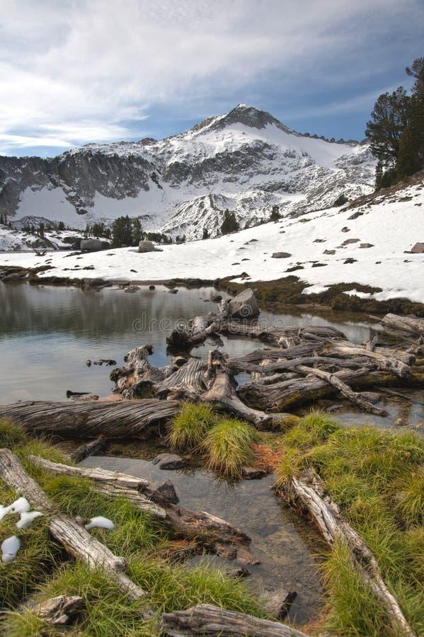 Alpine Lake, Wallowa Mountains, Oregon royalty free stock images