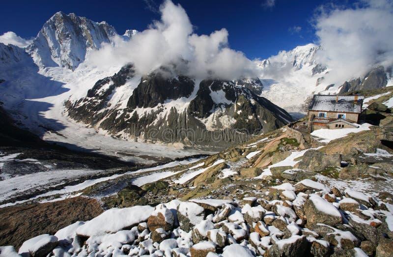 Download Alpine landscape stock image. Image of snows, blue, rocky - 3223137