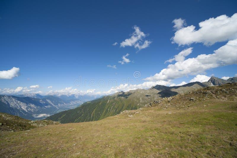 Alpine Landscape In Austria Royalty Free Stock Photo