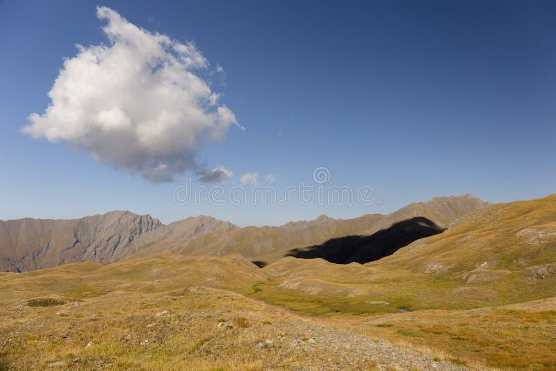 Cloud shadow royalty free stock photo