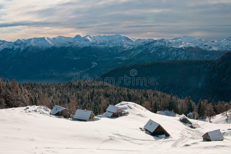 Download Alpine meadow stock photo. Image of landscape, snow, slovenia - 18067916