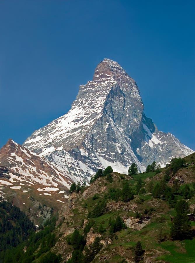 Download Alpine Mountain Matterhorn Zermatt Stock Photos - Image: 182783