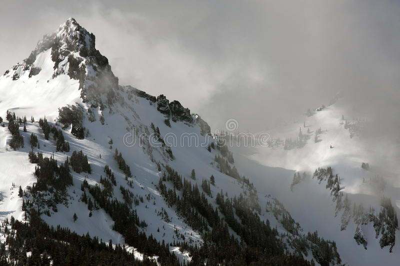 Alpine Mountain Storm royalty free stock images