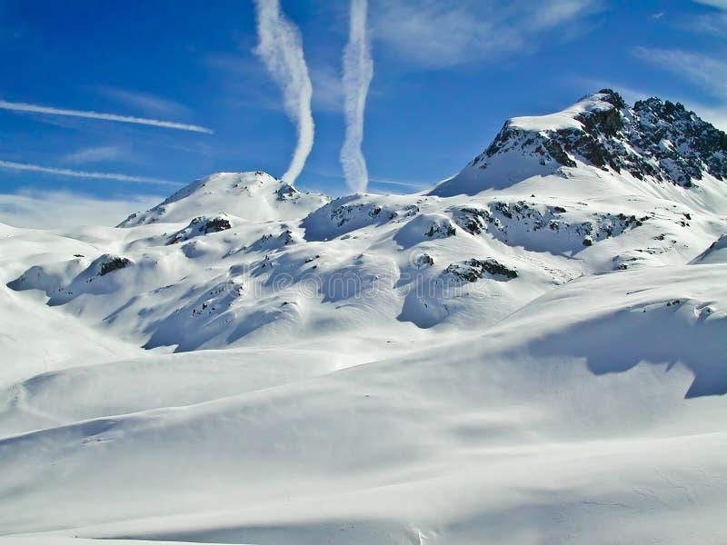 Alpine peace royalty free stock photo