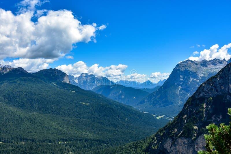 Alpine peaks stock photography